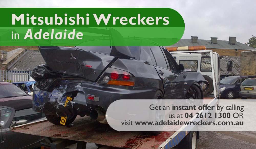 mitsubishi Wreckers SA flyer