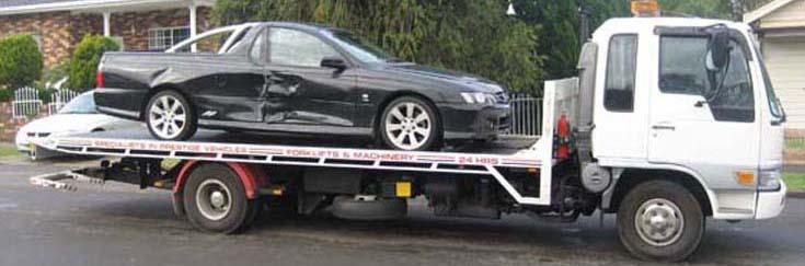 Salvage Car Napier